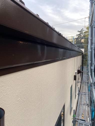 板金破風板 塗装