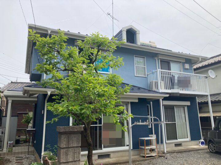 あきる野市 K様邸 屋根・外壁塗装工事