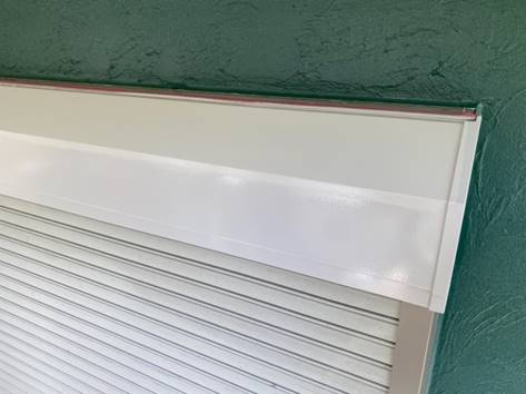 シャッターBOX 塗装