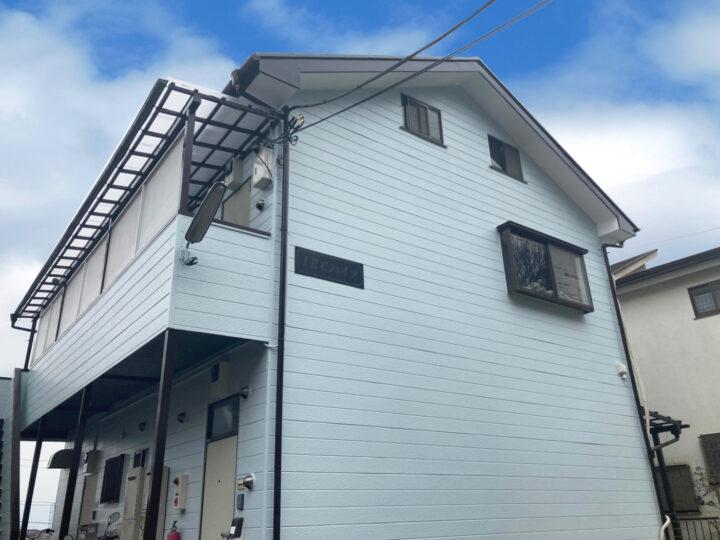 青梅市 Y様アパート 屋根・外壁塗装工事