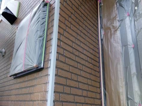 1階外壁 下塗り