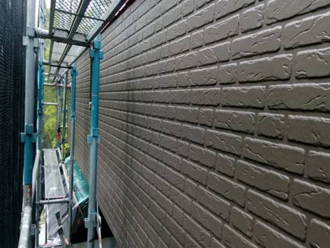 1階外壁 中塗り