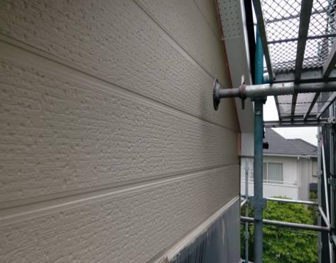 2階外壁 中塗り