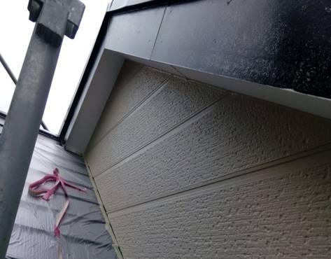 2階外壁 上塗り