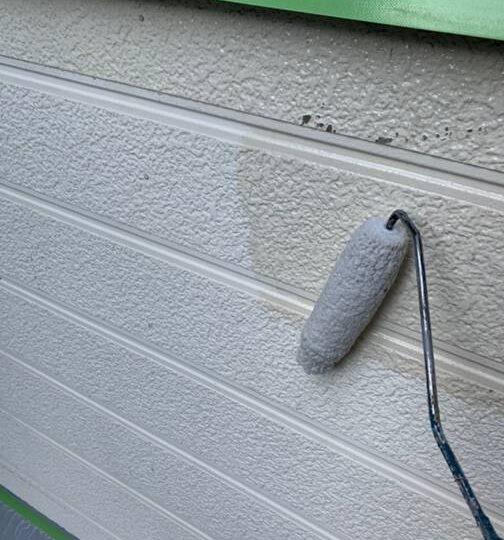 外壁(離れ) 下塗り