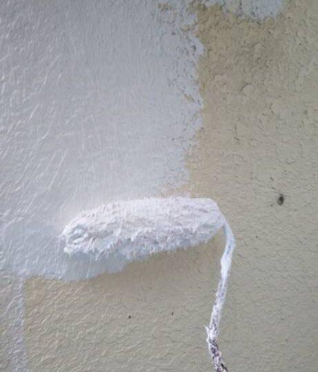 外壁(母屋) 下塗り