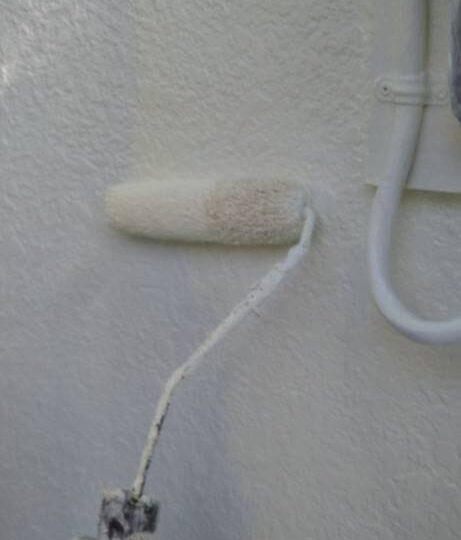 外壁(母屋) 中塗り