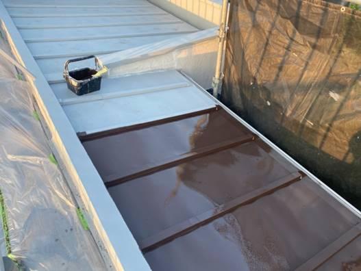 板金屋根 塗装