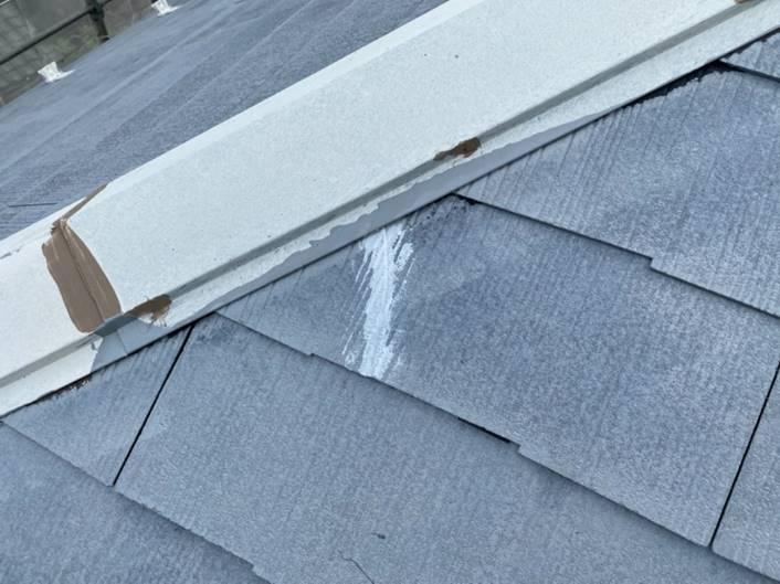 屋根 ヒビ割れ補修・修繕作業