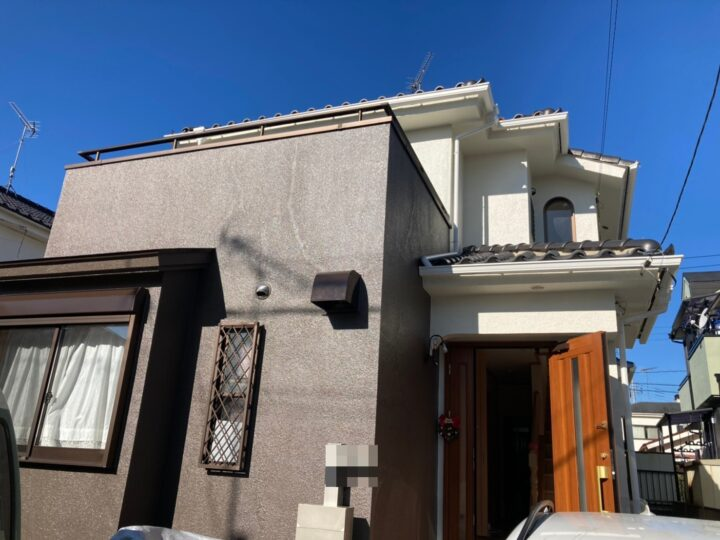 あきる野市 K様邸 外壁塗装工事