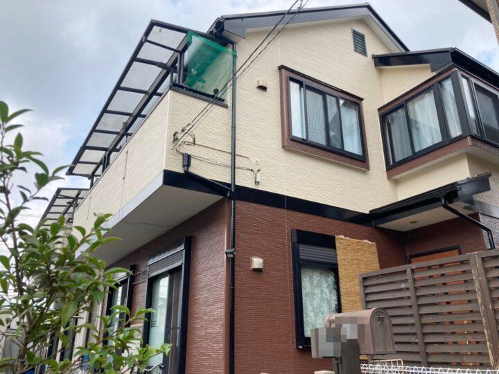 青梅市 S様邸 屋根・外壁塗装工事