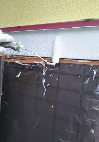 破風板・幕板 塗装