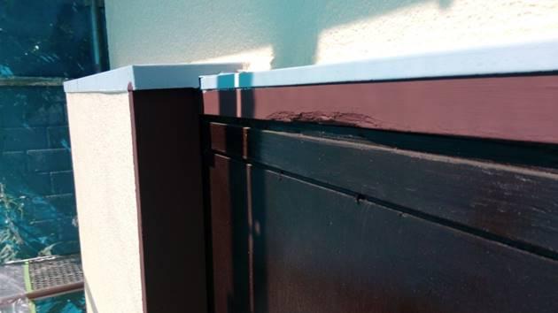 木製建具 塗装