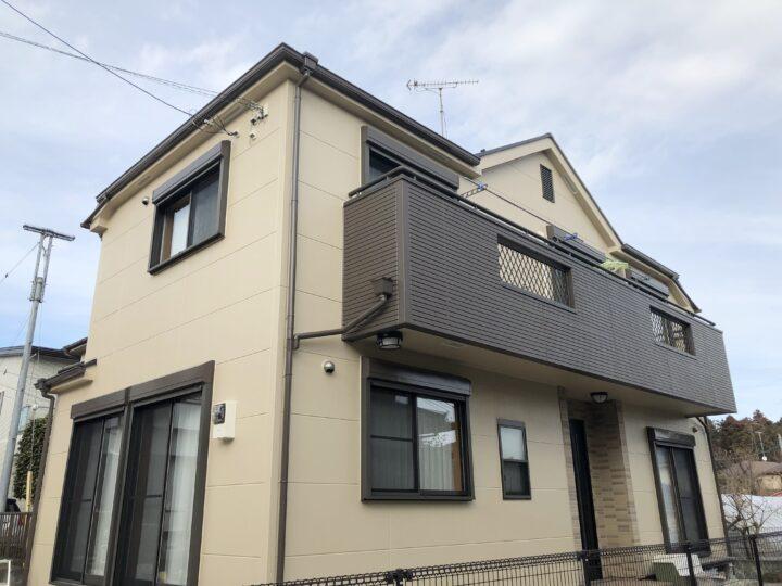 羽村市 S様邸 屋根・外壁塗装工事