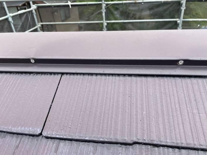 屋根 ビス打ち替え