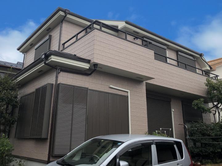 青梅市 W様邸 屋根・外壁塗装工事