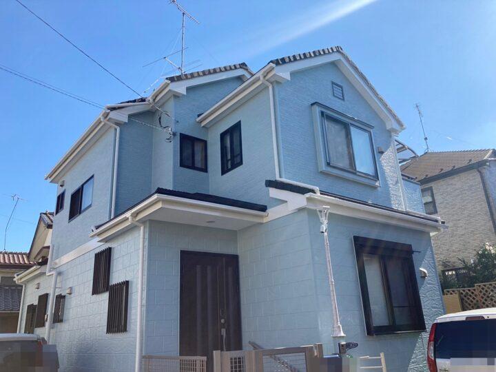 八王子市 H様邸 屋根カバー・外壁塗装工事